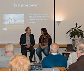 Ton van Vroonhoven in gesprek met Beeldkracht-auteur Diana Bokje